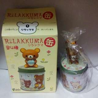 日本拉拉熊迷你收納罐