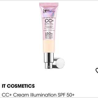 It Cosmetics Cc Cream Illumination Fair