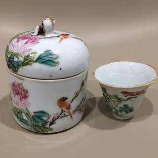 民国茶具 small Ming tea set