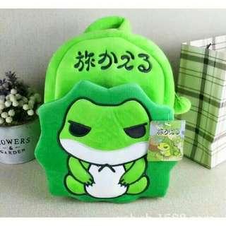 旅蛙後背包/旅行青蛙包