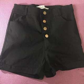 🚚 黑色高腰褲