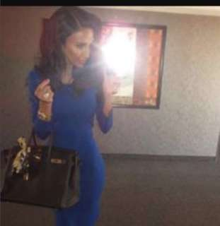 Blue Abbey Dress