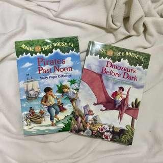 Set of 2: Magic Treehouse books (bundle)