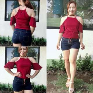 Idalys Tops S-M free size 002 PHP260.00
