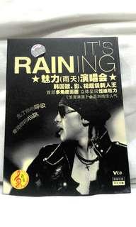 RAIN It's Raining 魅力(雨天) 演唱会 Korean Concert VCD