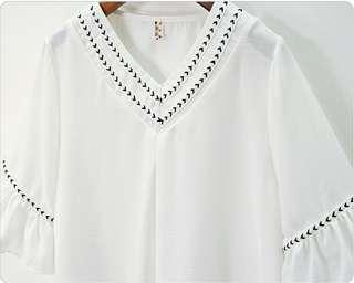 🚚 預購 大尺碼雪紡衫