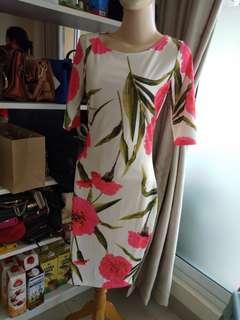 Dress bunga impor