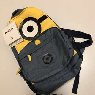 LOOKING FOR: 👀 Minion Delsey Backpack
