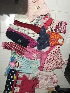 Girl bundle clothing