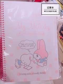 Melody notebook