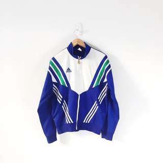 Adidas Ladies 3 Stripes Front Pocket Track Jacket