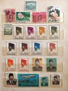 印尼郵票 (包郵)Indonesia stamps