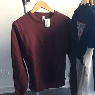AMERICAN APPAREL FLEECE SWEATER