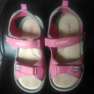 🚚 ORUEY 輕量涼鞋(女童)