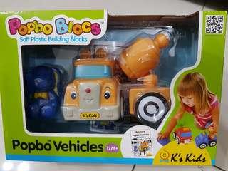 Popbo Blocs soft plastic building blocks
