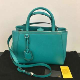 Fendi Petit 2Jours Aqua Authentic