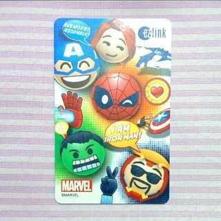 Avengers Ezlink card