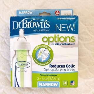 Dr. Browns Options Anti-Colic Narrow 4oz Bottles