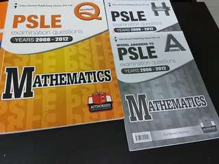 EPH and Shinglee PSLE examination questions 2008 - 2012 and 2003 - 2007