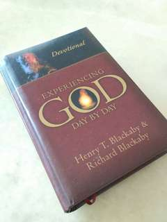 Daily Devotions, Experiencing God Day By Day