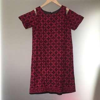 Batik Cap Dress