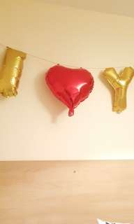 I love you balloon