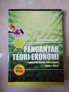 Buku ekonomi / pengantar teori ekonomi / suherman rosyidi / buku skripsi