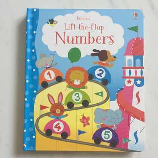 $12 Usborne Lift The Flap Numbers Book