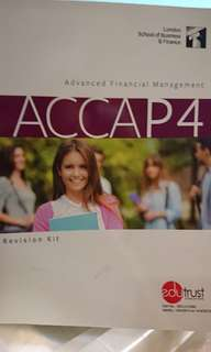 ACCA P4 Revision Kit + Cards