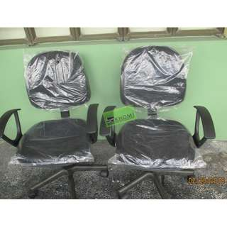 C609G CLERICAL CHAIRS COLOR BLACK--KHOMI