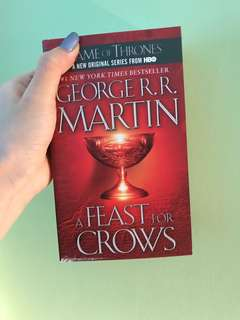 Game of Thrones Feast for Crows George RR Martin