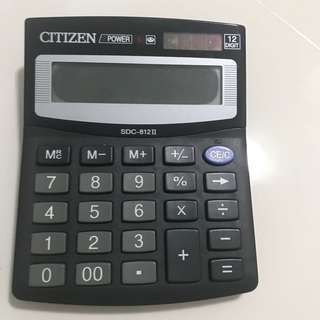 Citizen Calculator ( need to change battery )