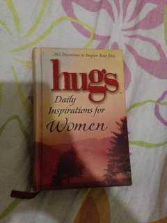 Hugs Daily Inspirations For Women Book