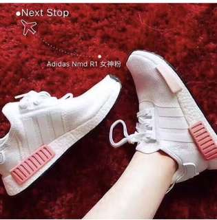 (Real) Adidas nmd R1 boost Pink 女神粉