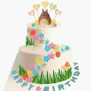 龍貓生日蛋糕