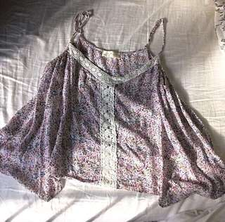 Flowy summer top