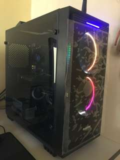 Intel core i7 gaming and editing pc