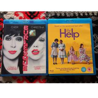 Assorted Blu-ray Movies: Musical / Drama