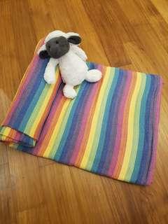 Lenny Lamb Bamboo Cotton Woven Wrap size 6