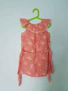Girl Sleeveless Dress