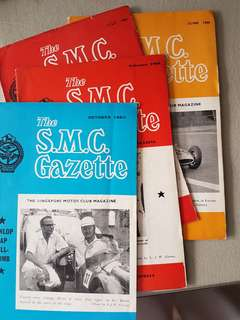 1960 The S.M.C. Gazette Magazine