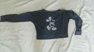 Croptop Mickey