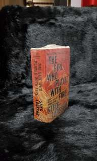 NEW 'The Girl Who Played With Fire' by: Stieg Larsson