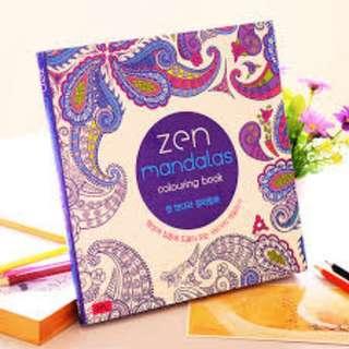 Madalas/Secretgarden Coloring Books - Ready Stocks