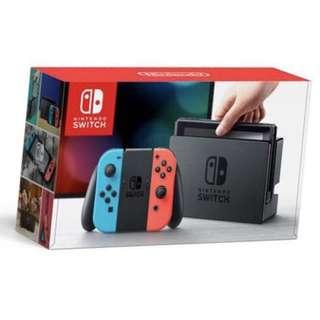 Nintendo 任天堂】Switch主機 黑色 彩色 皆有