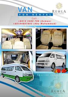 16 Seater Tourist Van