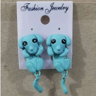 Dog Design Earrings