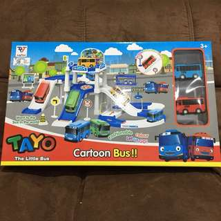 Tayo The Little Bus Parking Set