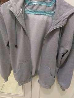 Jacket Hoodie grey