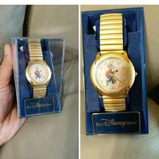 迪士Disney Store Goofy 高飛狗彈弓帶手錶